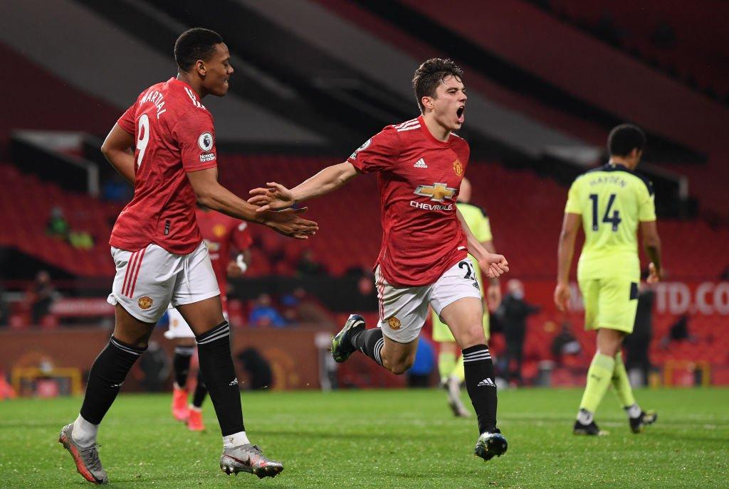 Daniel James roser United-talent: Han har været utrolig